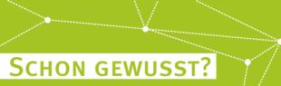 Schon gewusst? Grafik: ZSB, Universität Paderborn
