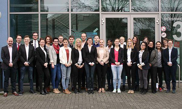 Abschlussveranstaltung Winter School 2015 (Bild: Universität Paderborn, Cinderella Welz)