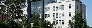 Bild zeigt das W-Gebäude