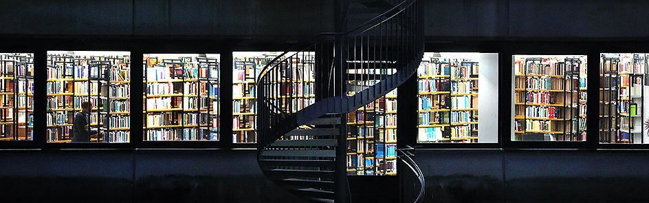 Einblick in die Universitätsbibliothek.